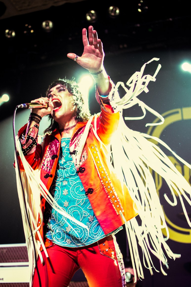 The Struts performing at Metro in Chicago, IL.