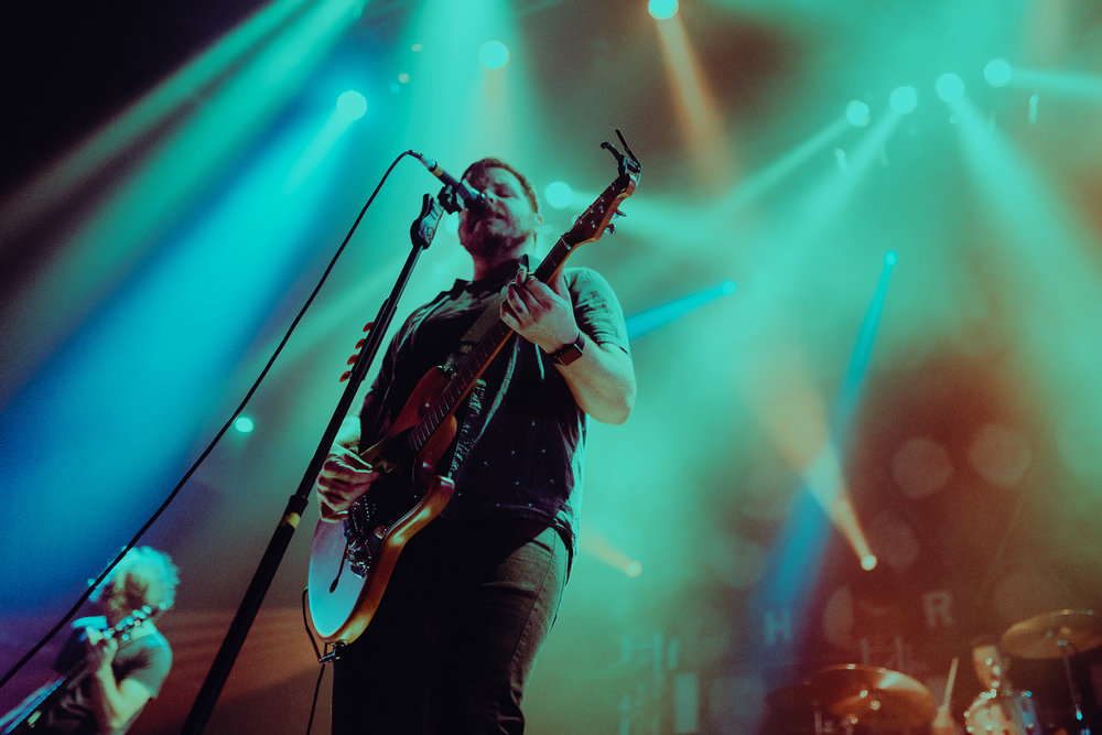 Thrice performing at House of Blues in Boston, MA.