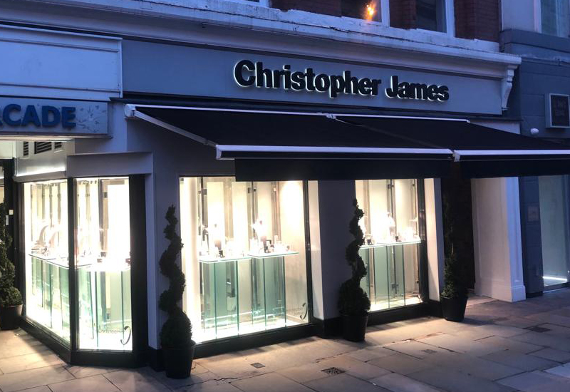 Christopher James at St Anns Square