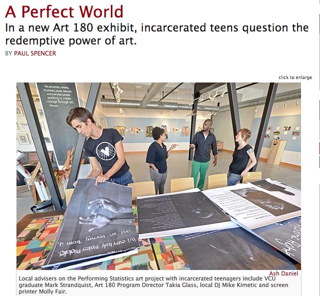 Screenshot courtesy of  styleweekly.com
