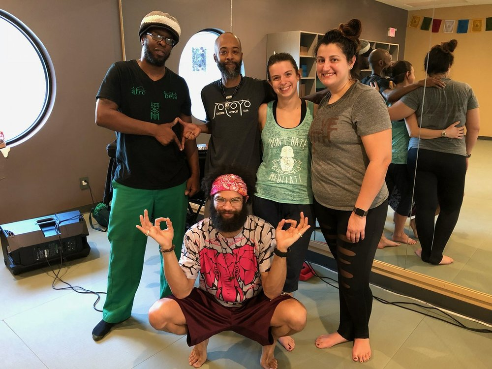 Blacksburg at InBalance Yoga Studio (2018)