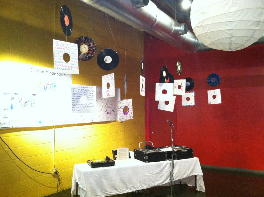 DJ Setup for The Big Show (2010)