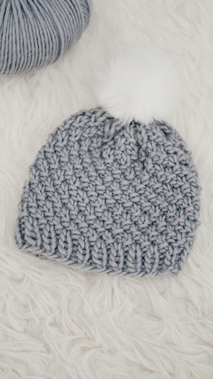 6556477d2a6 The moss stitch baby hat captures the all natural beauty of Peruvian wool  in its finest! A simple stitch repeating pattern creates a lovely texture
