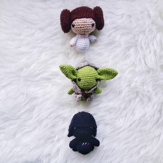Darth Vader Amigurumi Doll: Free Crochet Pattern | FeltMagnet | 640x640