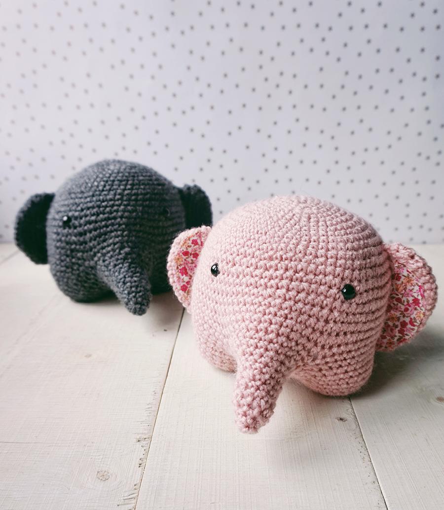 easy crochet elephant projects - YouTube | 1034x900