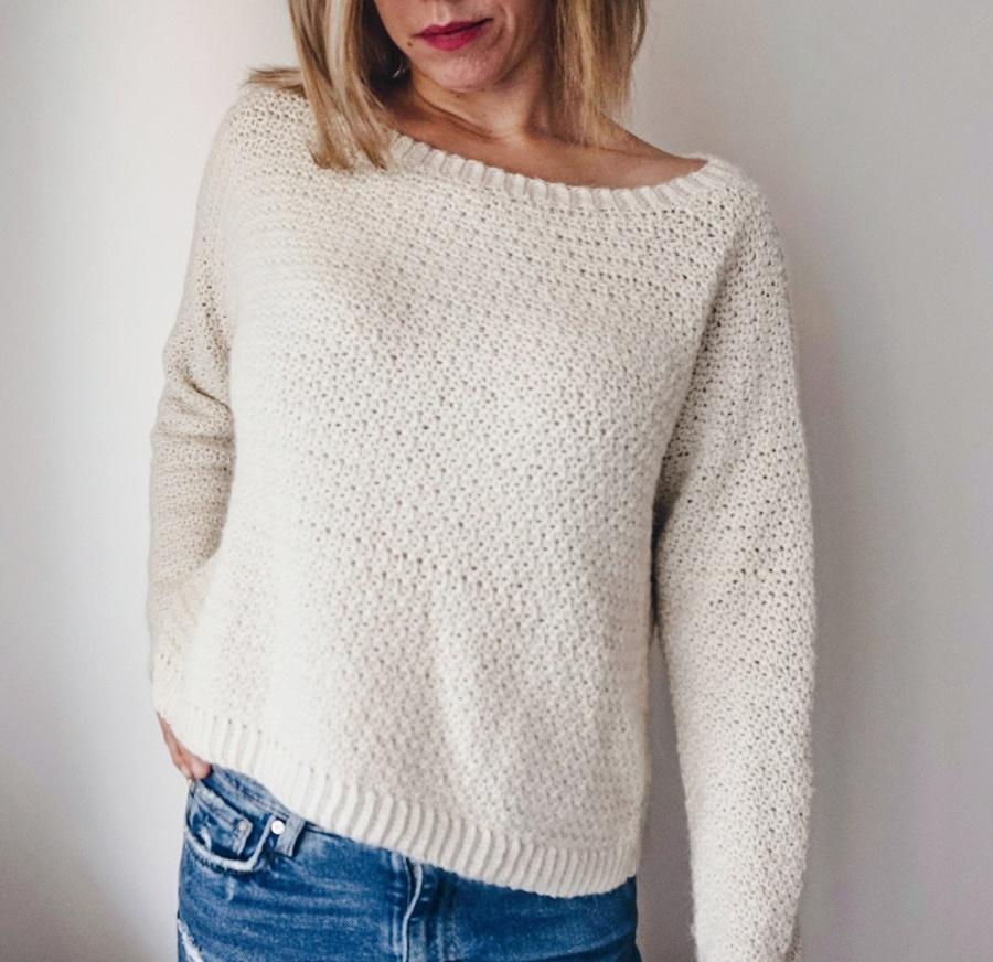 Farrow Sweater Crochet Pattern Little Things Blogged