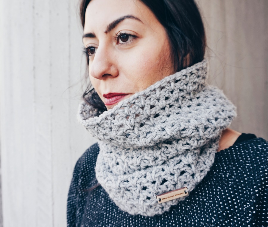 Norton Crochet Cowl Pattern Little Things Blogged