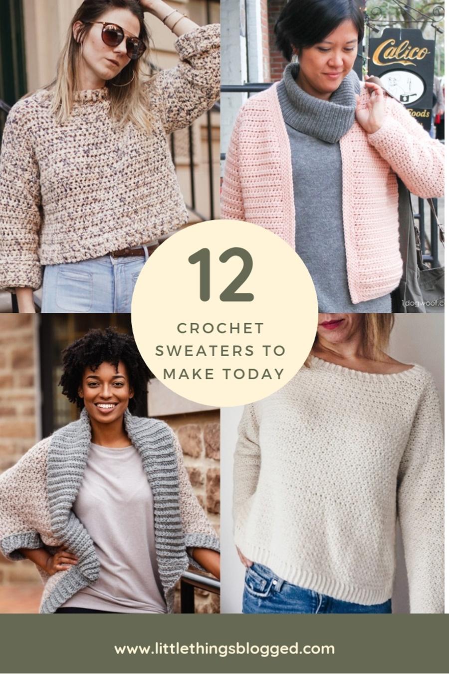 12 crochet sweaters to make today.jpg