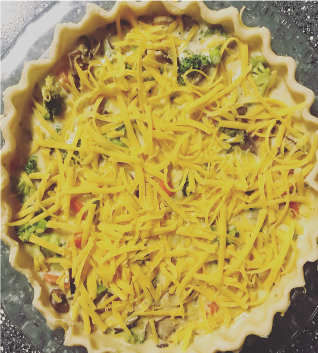 THE PERFECT VEGETABLE QUICHE -