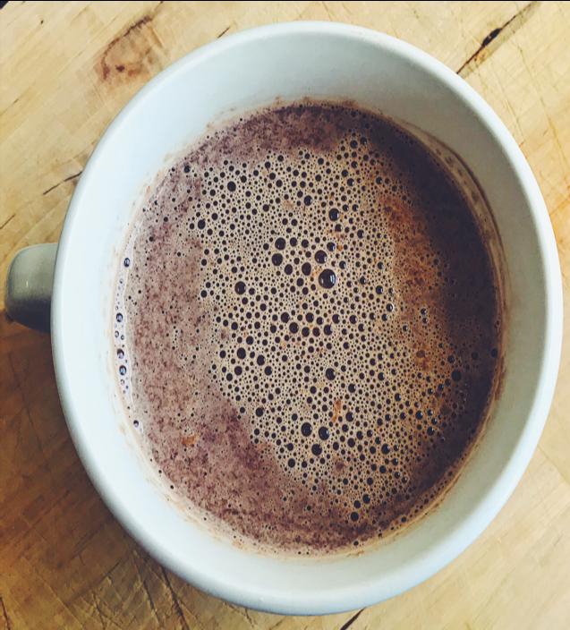 DELICIOUS WINTER HOT CHOCOLATE -