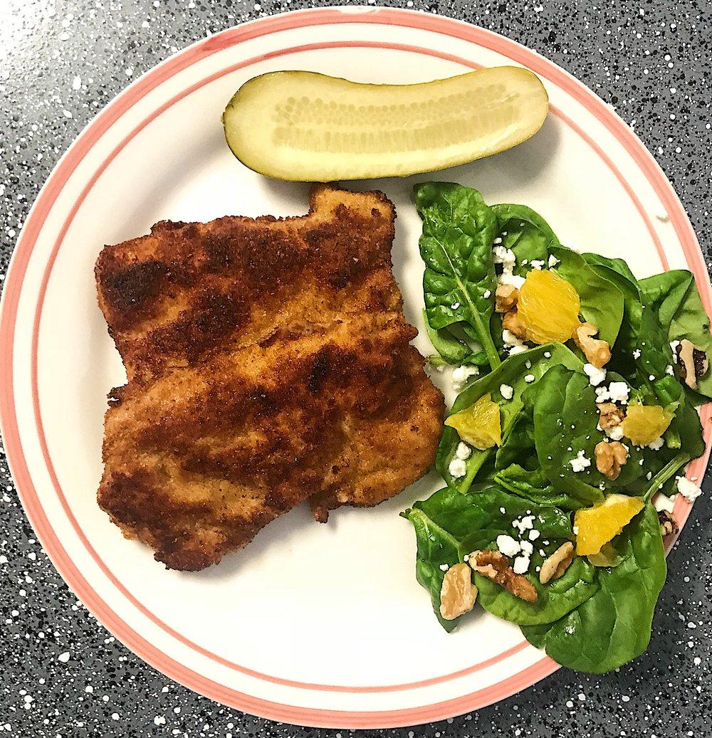 Kitchen Scratch Pork Schnitzel