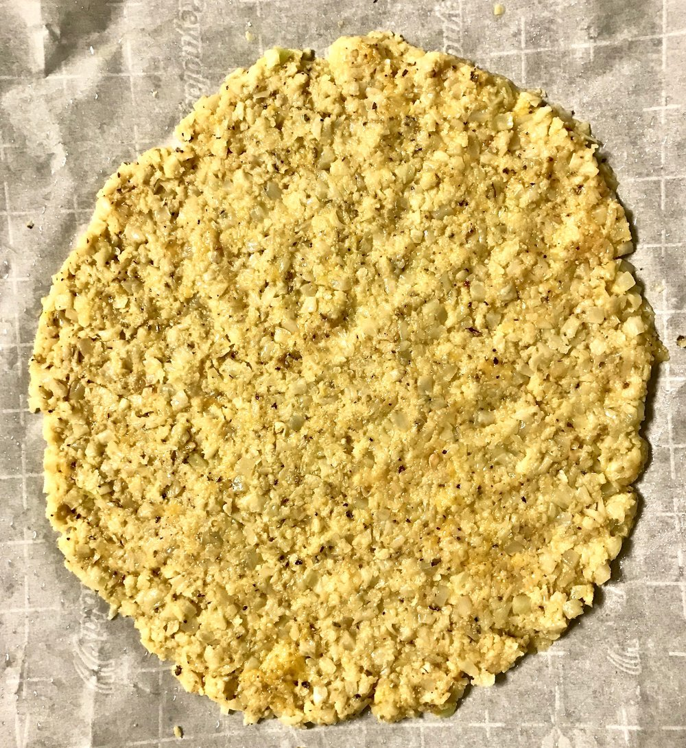 Kitchen Scratch Cauliflower Crust Pizza