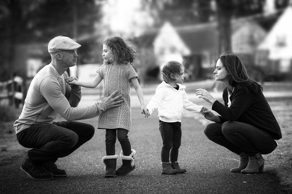 Dana Romano_family_squatBW.jpg