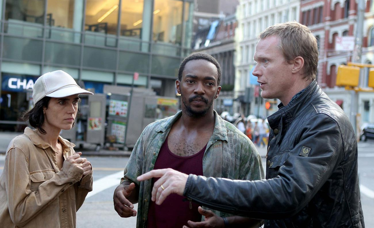 jennifer-connelly-anthony-mackie-and-paul-bettany-filming-shelter