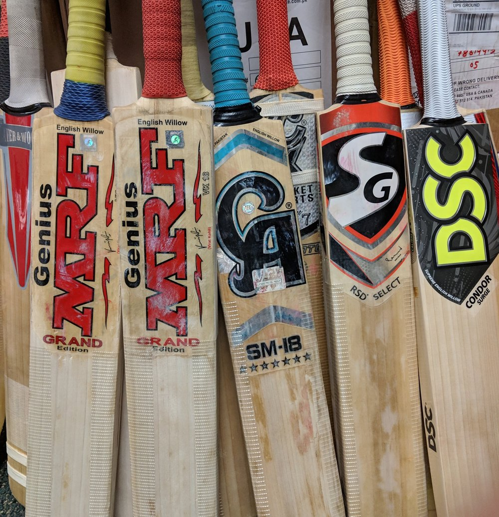 Bat Repair and Preparation - We can bring an old bat back to life or prepare a brand new bat. Bring your bat in today!Bat RepairFace Repair - From $30Handle - From $45Bat PreparationKnocking - $30Oiling - $5Anti-Scuff Sheet - $10