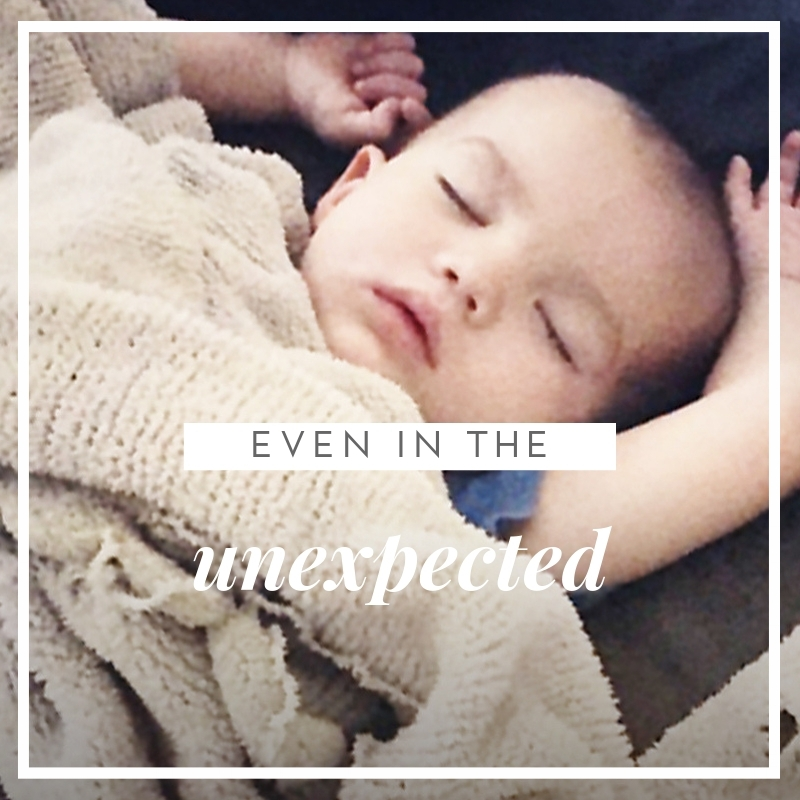 EVEN IN THE UNEXPECTED BLOG ALISON WALLWORK