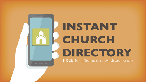 You may also download the free app to your phone! To update your email address, contact the church office.