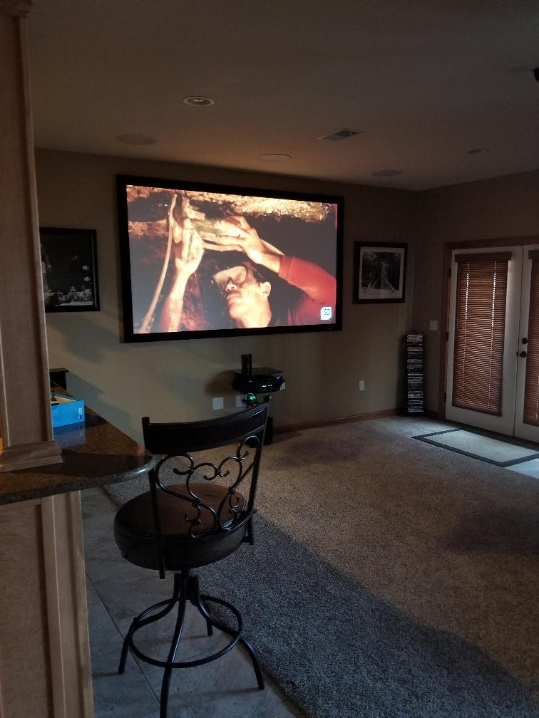 Minimalist Home Theater