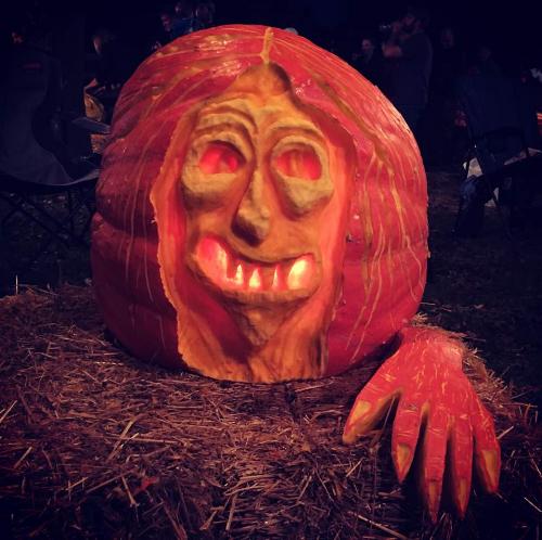 Carved by Laurie Ellis