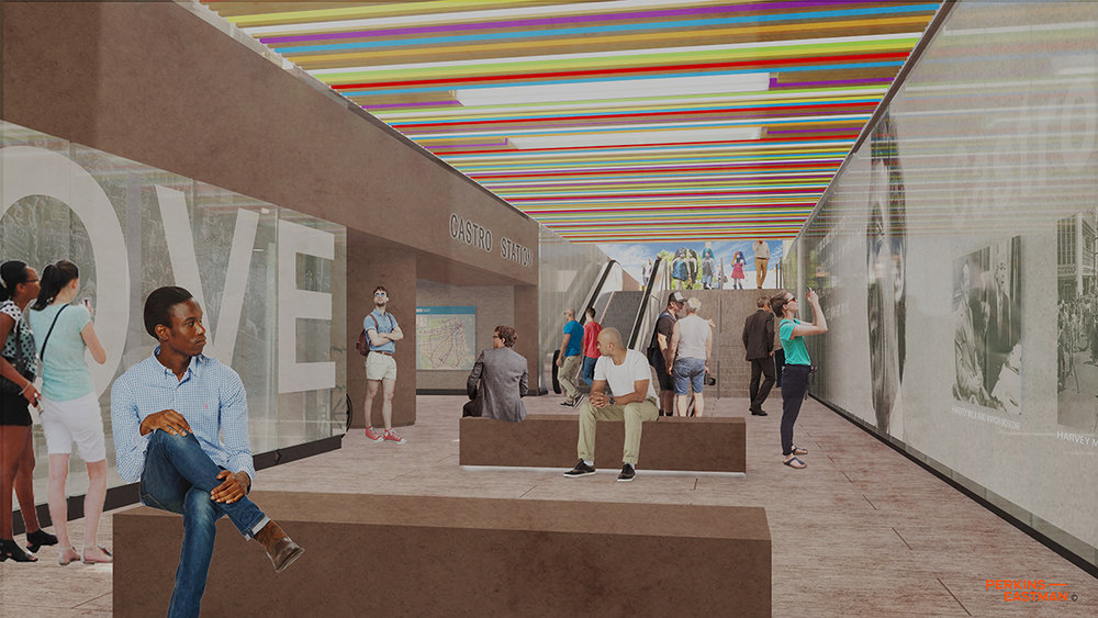LR-Exiting from Castro Station through a Vibrant and Energizing Space towards Castro Street.jpg