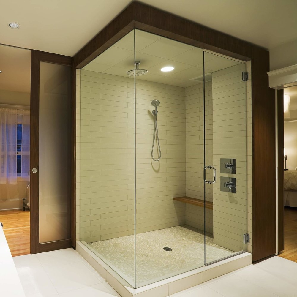 learn more about… Shower Doors & Enclosures -