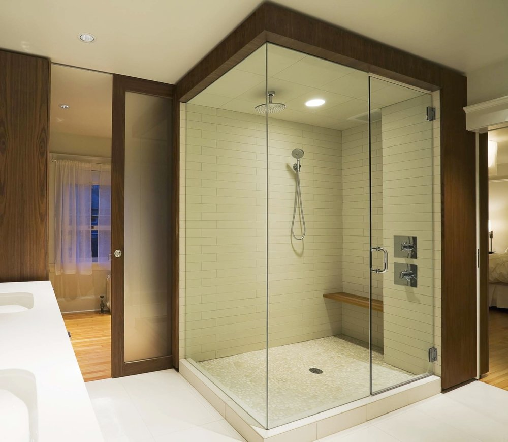 We're known for our European frameless showers. We also offer: - SEMI-FRAMELESS SHOWER ENCLOSURESSHOWER DOORSSLIDING TUB ENCLOSURESBARRIER-FREE ENCLOSURES FOR HANDICAP ACCESSSHOWER SCREENSSTEAM DOORS & ENCLOSURESCUSTOM ENCLOSURESOPERABLE TRANSOMS FOR VENTILATIONEUROPEAN FRAMELESS SHOWER ENCLOSURES