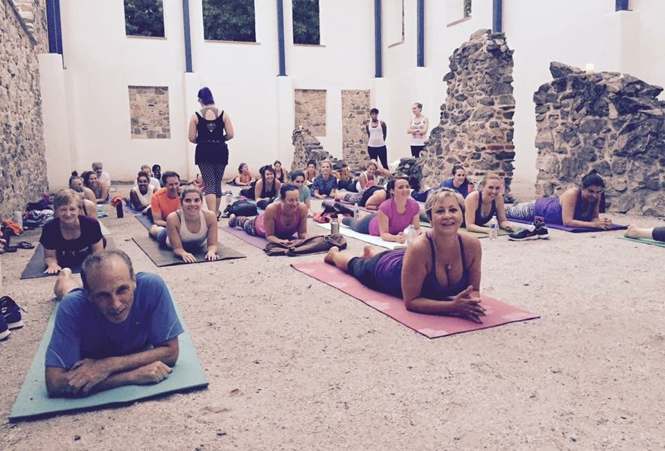 50 Happy Yoga Teacher Training Graduates - Flissy facilitated five Life Power Yoga Teacher Trainings over three years, including the top net profit YTT for Life Time in the country in 2017.