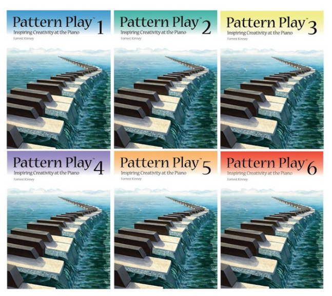 Forrest Kinney's Pattern Play Series Published by RCM Music