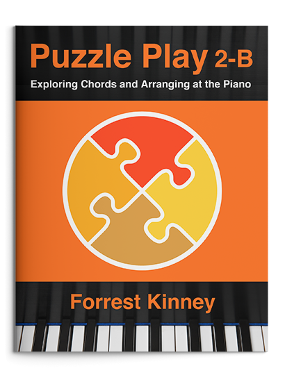 Puzzle Play 2-B Piano Book, Forrest Kinney