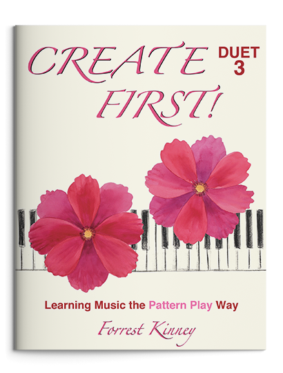 Create First! Duet 3 Piano Book, Forrest Kinney