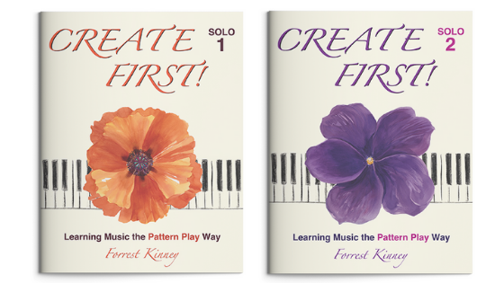 Create First! Solo Piano Book Set, Books 1 and 2, Forrest Kinney