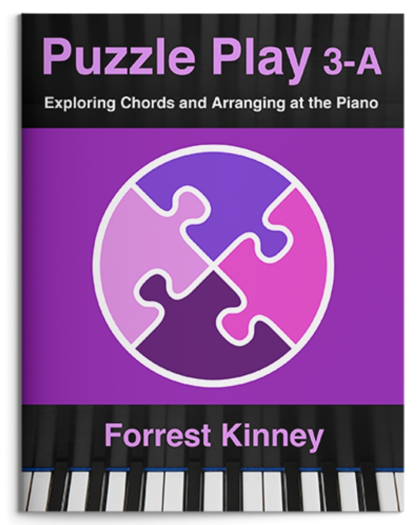 Puzzle Play 3-A Piano Book, Forrest Kinney