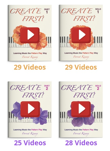 Create First! 1 and 2 Video Sets, Forrest Kinney