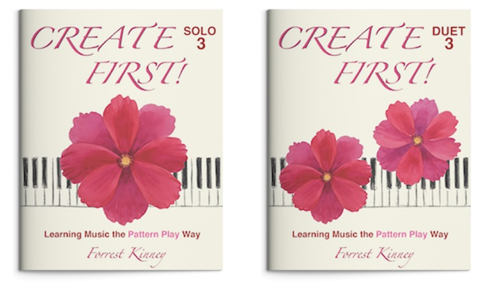 Create First! Level 3 Spiral-Bound Piano Book, Forrest Kinney