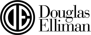 Douglas Elliman Real Estate logo.
