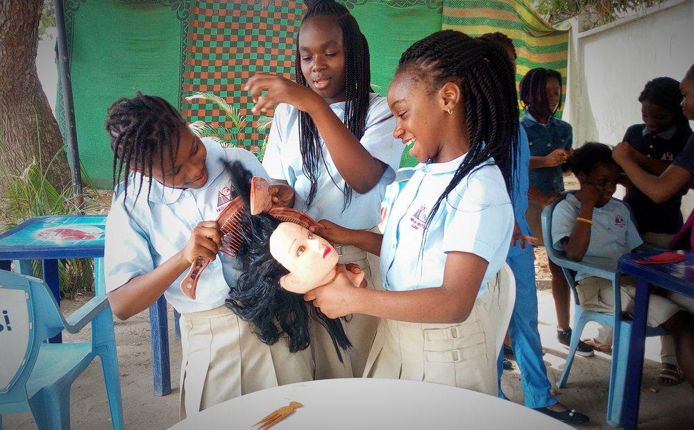 Hair braiding club