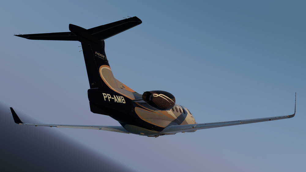 Cardenado Phenom 300 - Click the download button to start downloading the Reflection Profiles for the Carenado Phenom 300. The zip file includes profiles for VC and exterior.