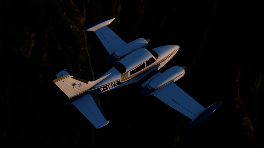 Milviz Cessna 310R - Click the download button to start downloading the Reflection Profiles for the Milviz Cessna 310R.