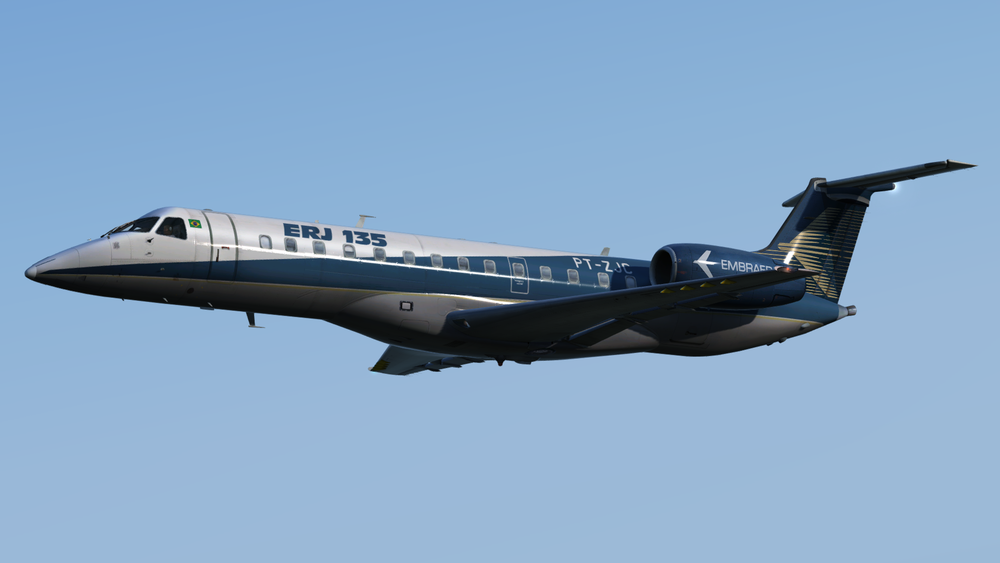feelThere E135 and E145 - Click the download button to start downloading the Reflection Profiles for the feelThere Embraer E135 and E145.