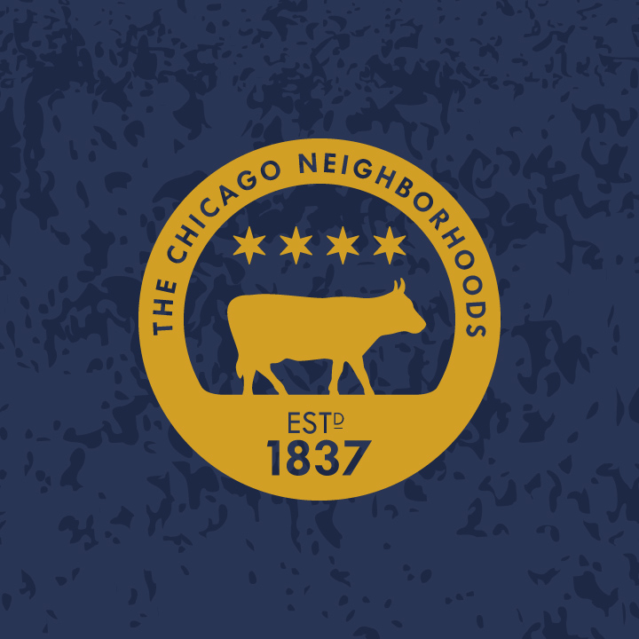 """The """"official"""" seal of the Chicago Neighborhoods Project."""
