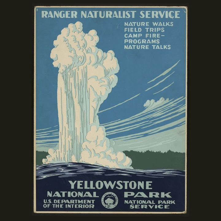 One of the original WPA designs, created in 1938.