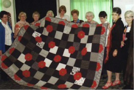 Quilts and Coffee Group of the Ladies Probus Club of the Upper Blue Mountains