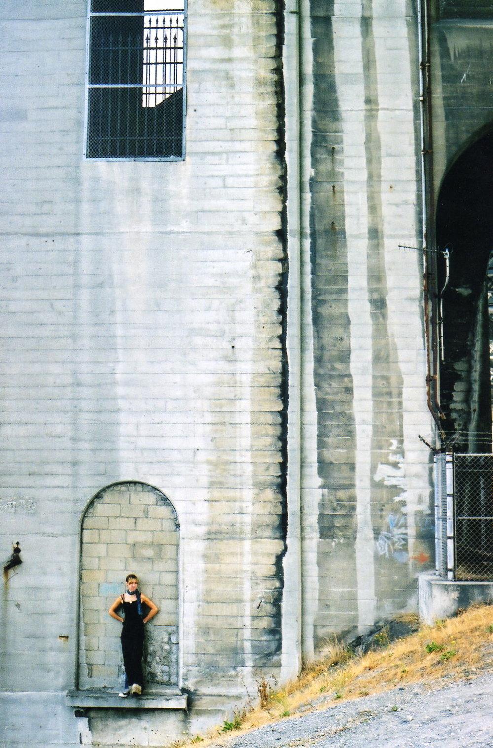 Lauren under the bridge.jpg