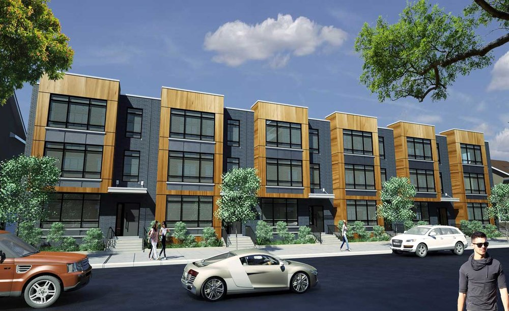 Image Credit: Jerseydigs.com / Queen Latifah's development along Springfield Avenue, Newark. Rendering via Blue Sugar Corporation and GonSosa Development.