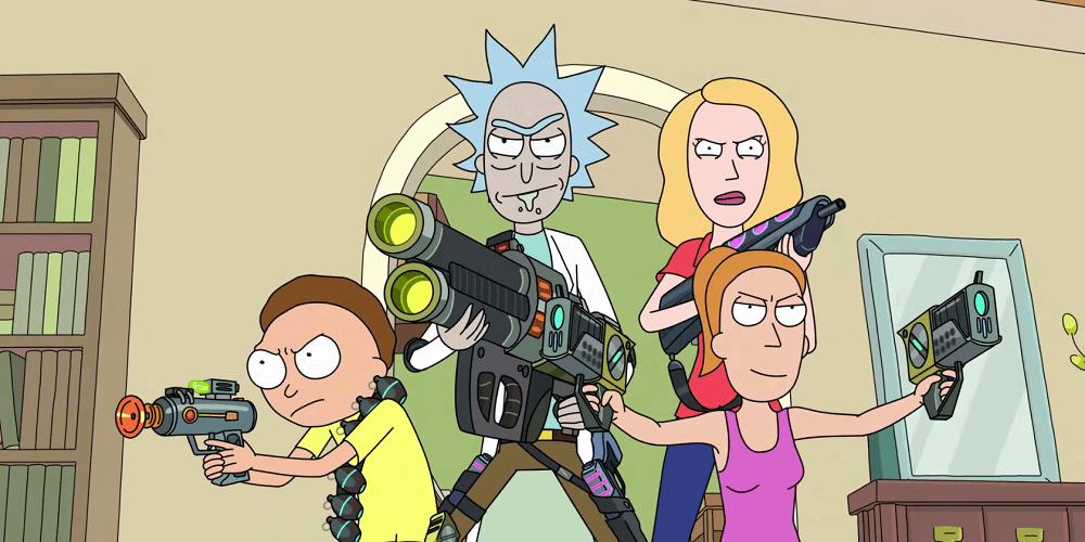 """Total Rickall"",  Rick and Morty.  Adult Swim. 2015."