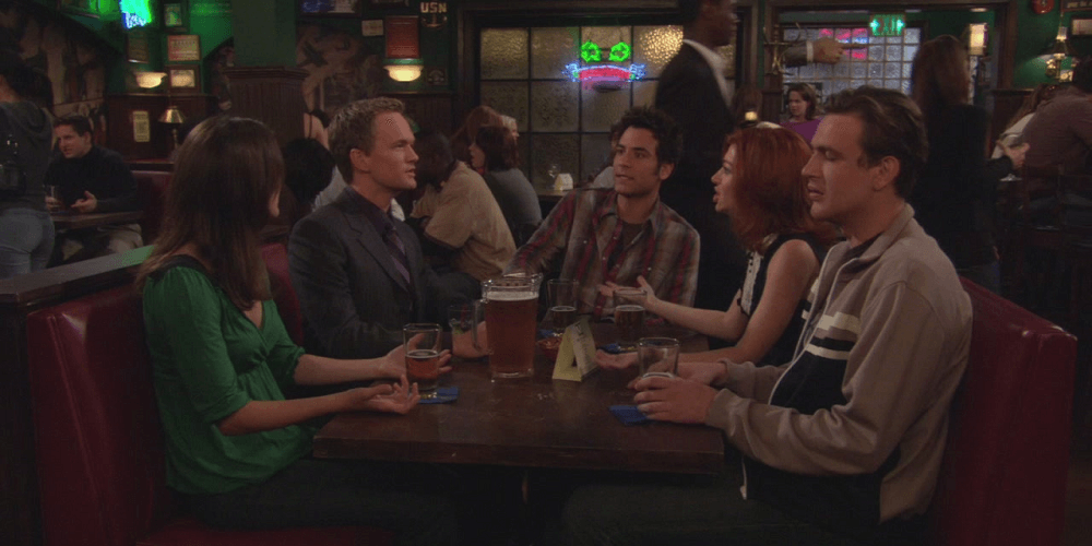 """The Platinum Rule"",  How I Met Your Mother.  CBS. 2007."