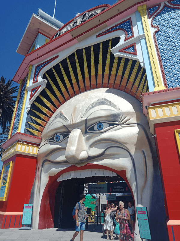 Luna Park - The stuff of nightmares.