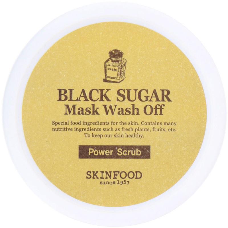 Skinfood Black Sugar Wash Off Mask 100g - Photo courtesy of eBay.