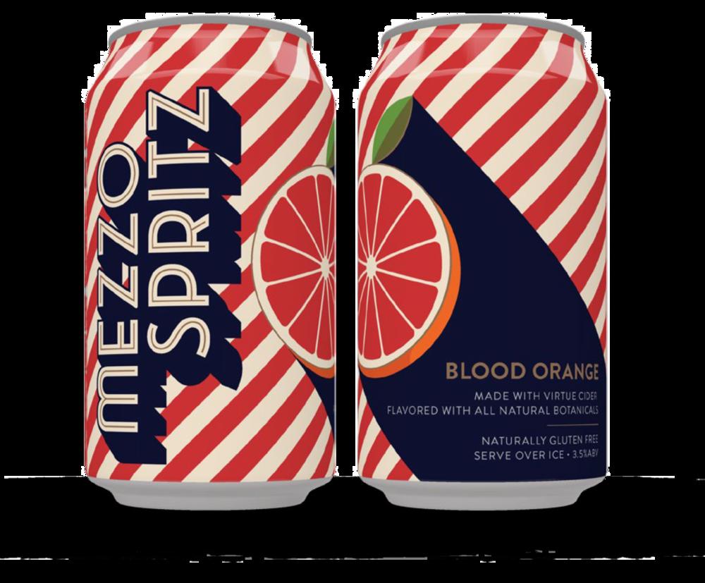 BLOOD ORANGE SPRITZ CAN