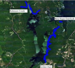 Fall 2012 Cleanup Progress Map